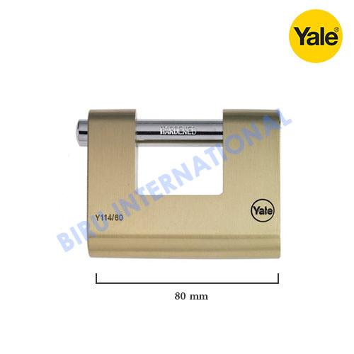 Gembok YALE Y114/80/118/1 ( Rectangular Padlocks - ORI)
