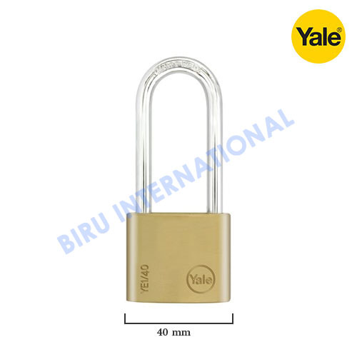 Gembok YALE Y110/40/163/1 (Classic Series Outdoor Solid Brass Padlock)