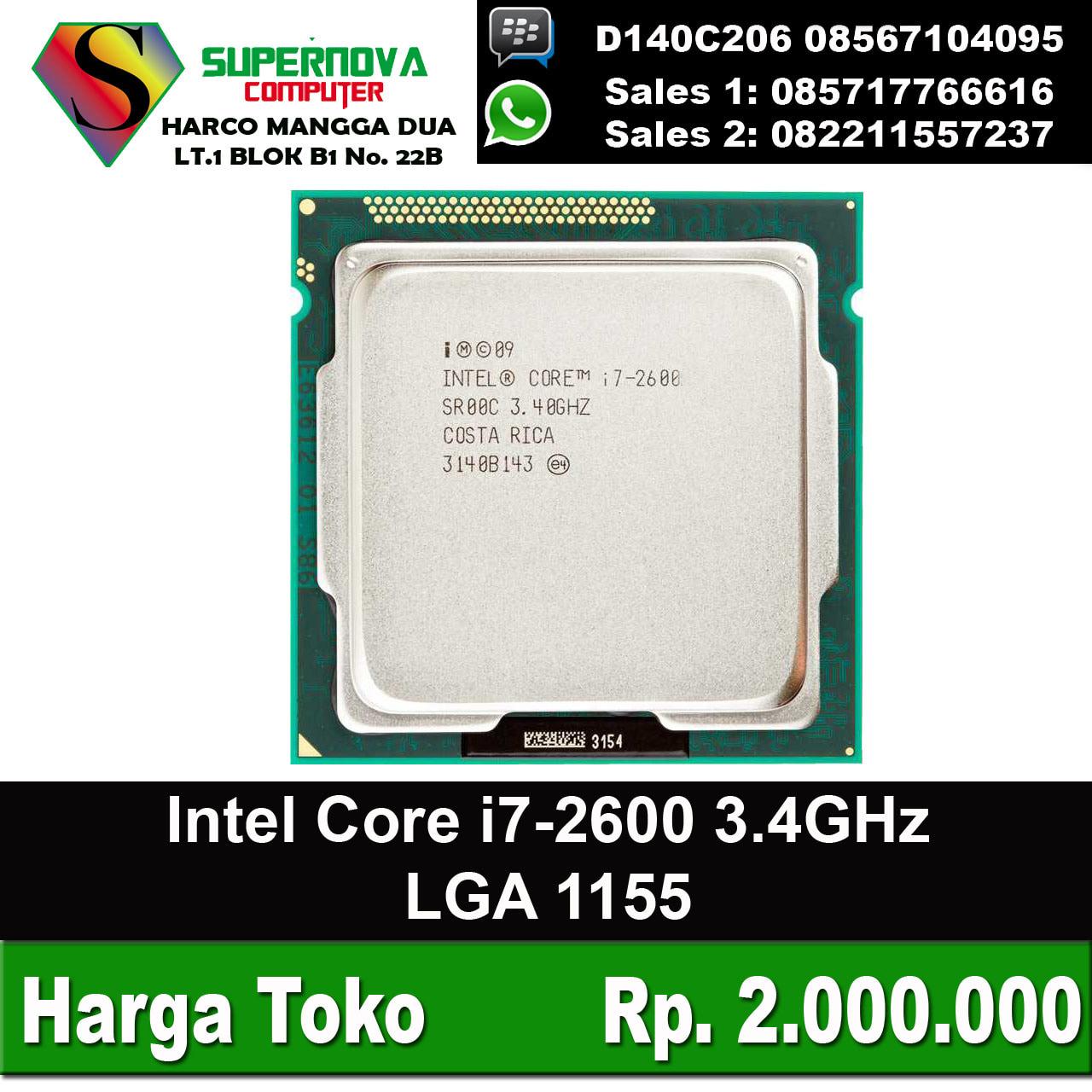 Harga Intel Core I7 Lga 1155 Karmashares Llc Leveraging 4790 34 Box Socket 1150 Jual Processor 2600 34ghz Tray Supernova Computer Ariet