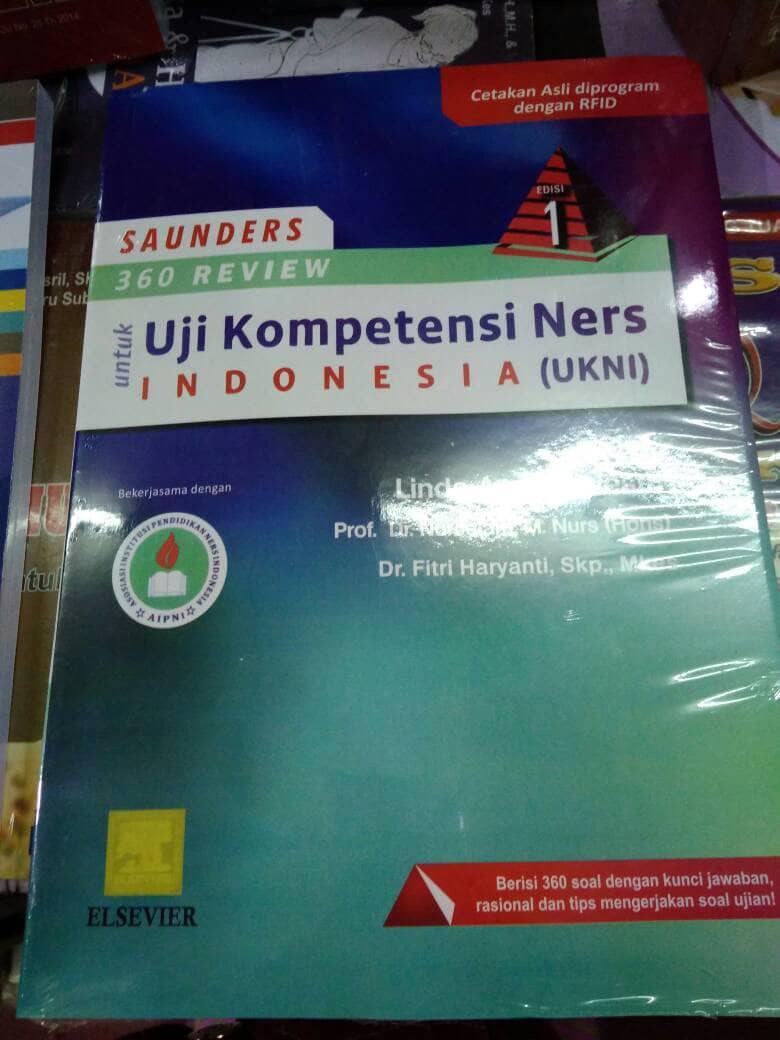Buku Uji Kompetensi Ners Indonesia ( UKNI )