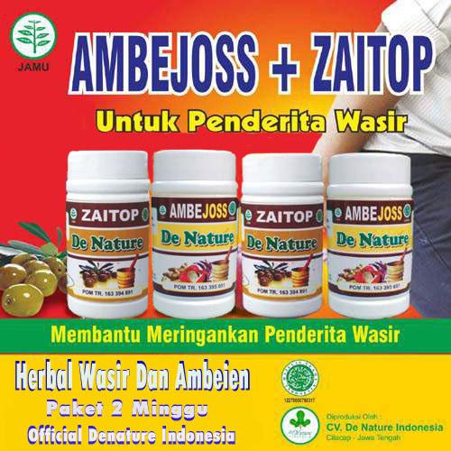 Obat Wasir Herbal   Obat Ambeien Denature