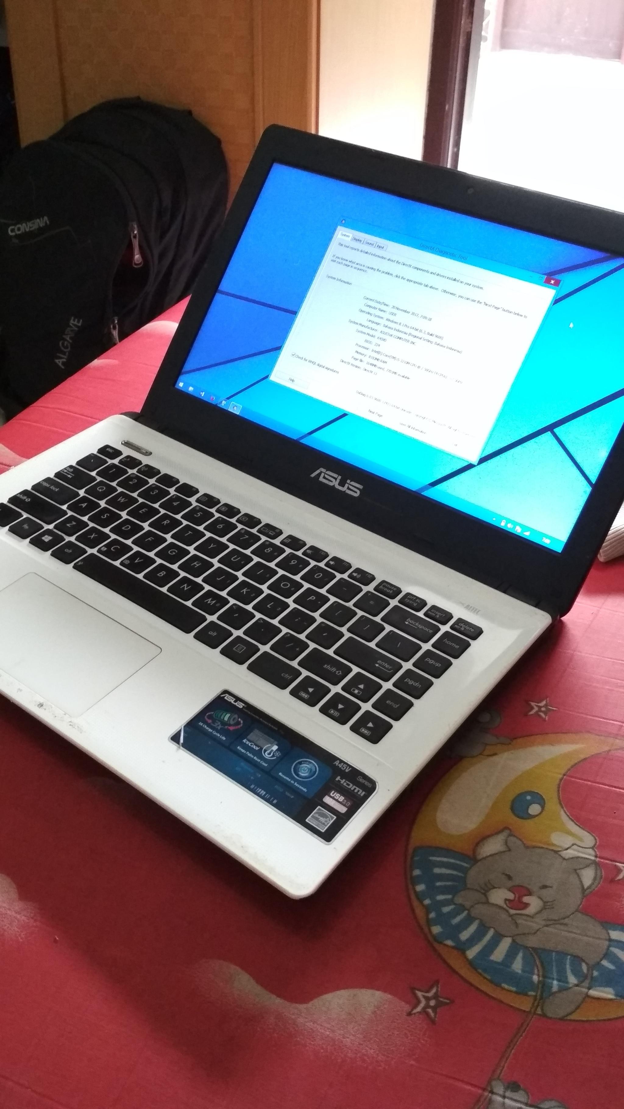ASUS K45VD Intel Bluetooth Windows Vista 32-BIT
