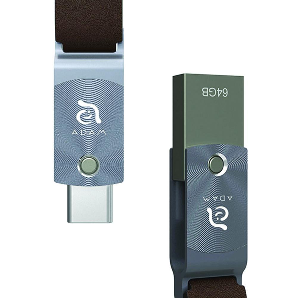 Adam Elements Roma Usb Type - C Otg Flash Drive 64gb Grey - Blanja.com
