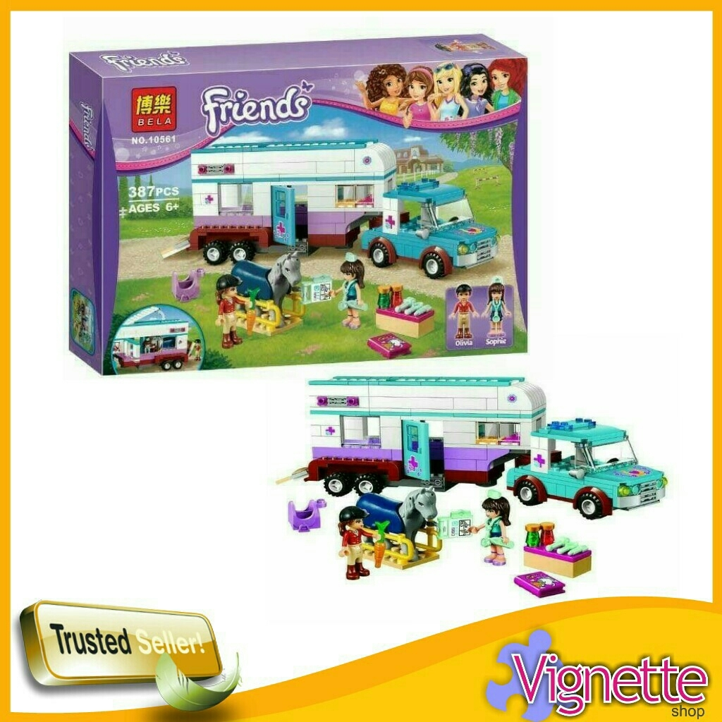 Jual Lego Block Friends Heartlake Pet Hospital 10561 Vignette Shop