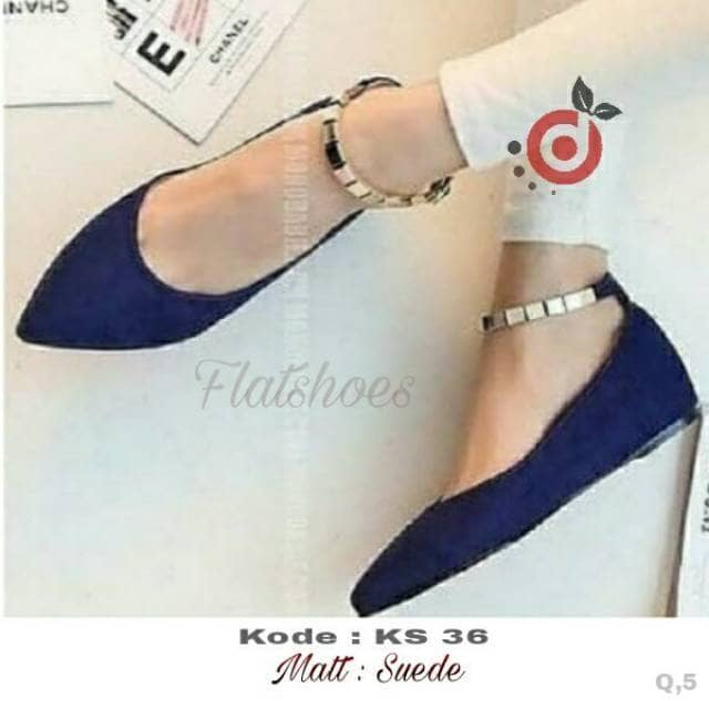 Sepatu flat wanitaflat shoes