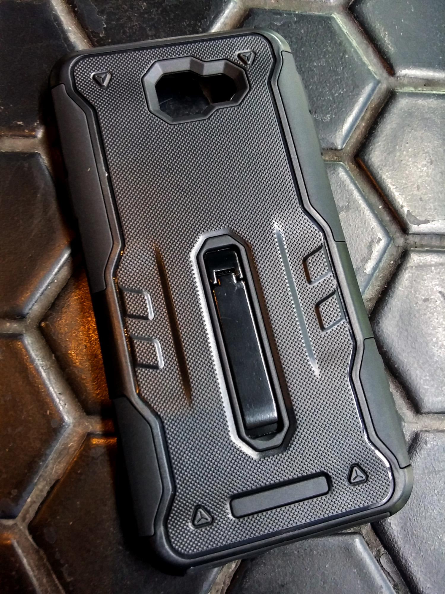 Samsung J7 Prime DMG Protective Armor Case Shockproof Soft n Hard