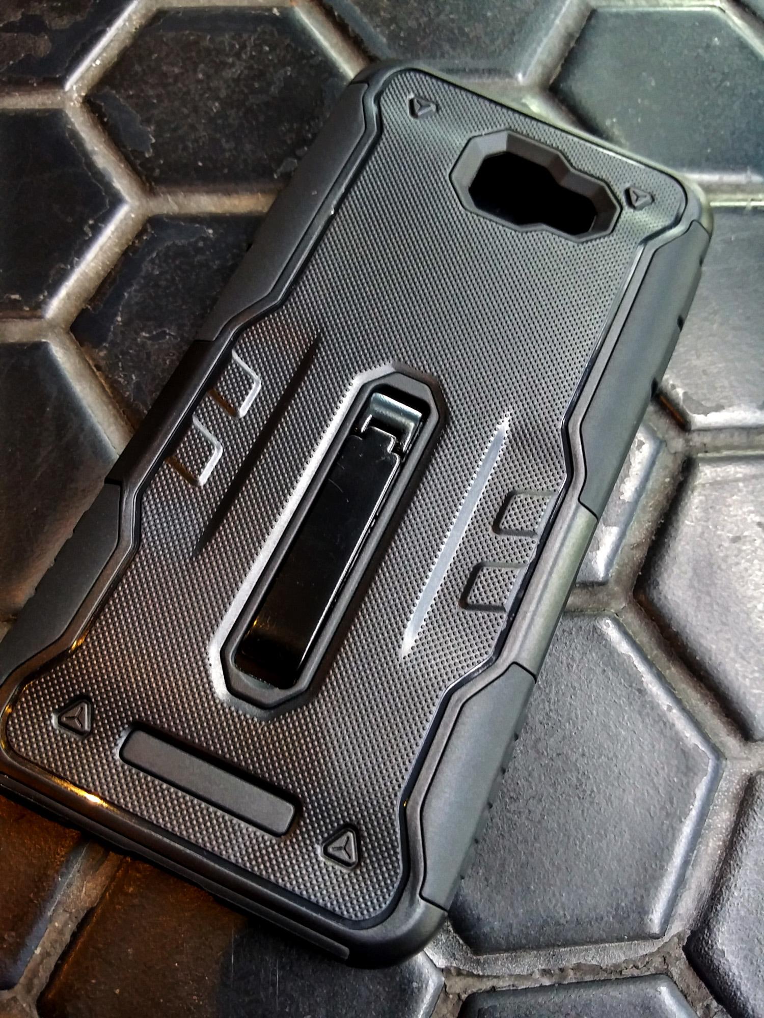 Samsung A5 2017 Belt Holster DMG Protective Armor Case Shockproof