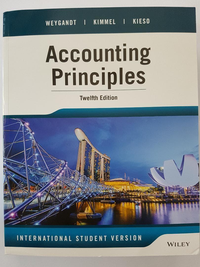 [ORIGINAL] Accounting Principles 12e Weygandt