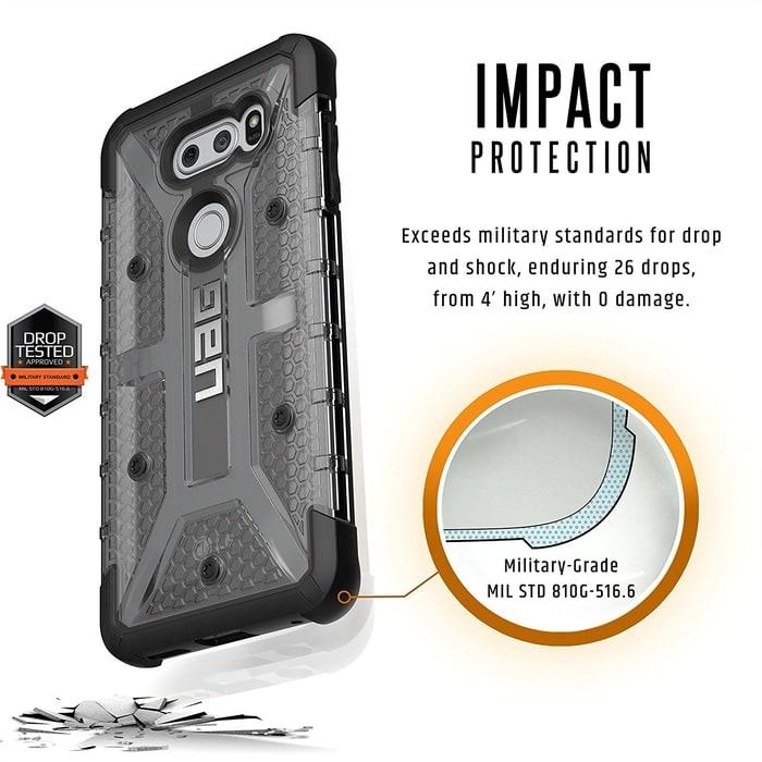 UAG LG V30 Case Plasma - Ash