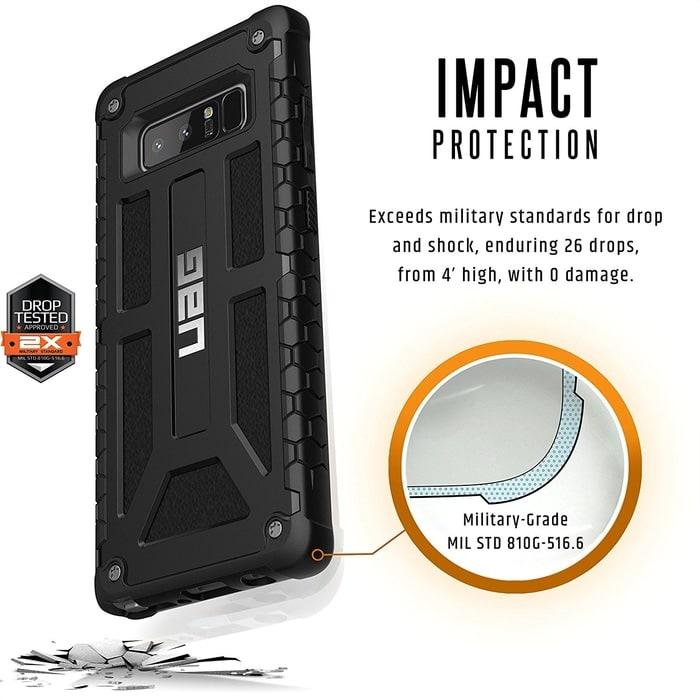 UAG Galaxy Note 8 Case Monarch - Black Matte