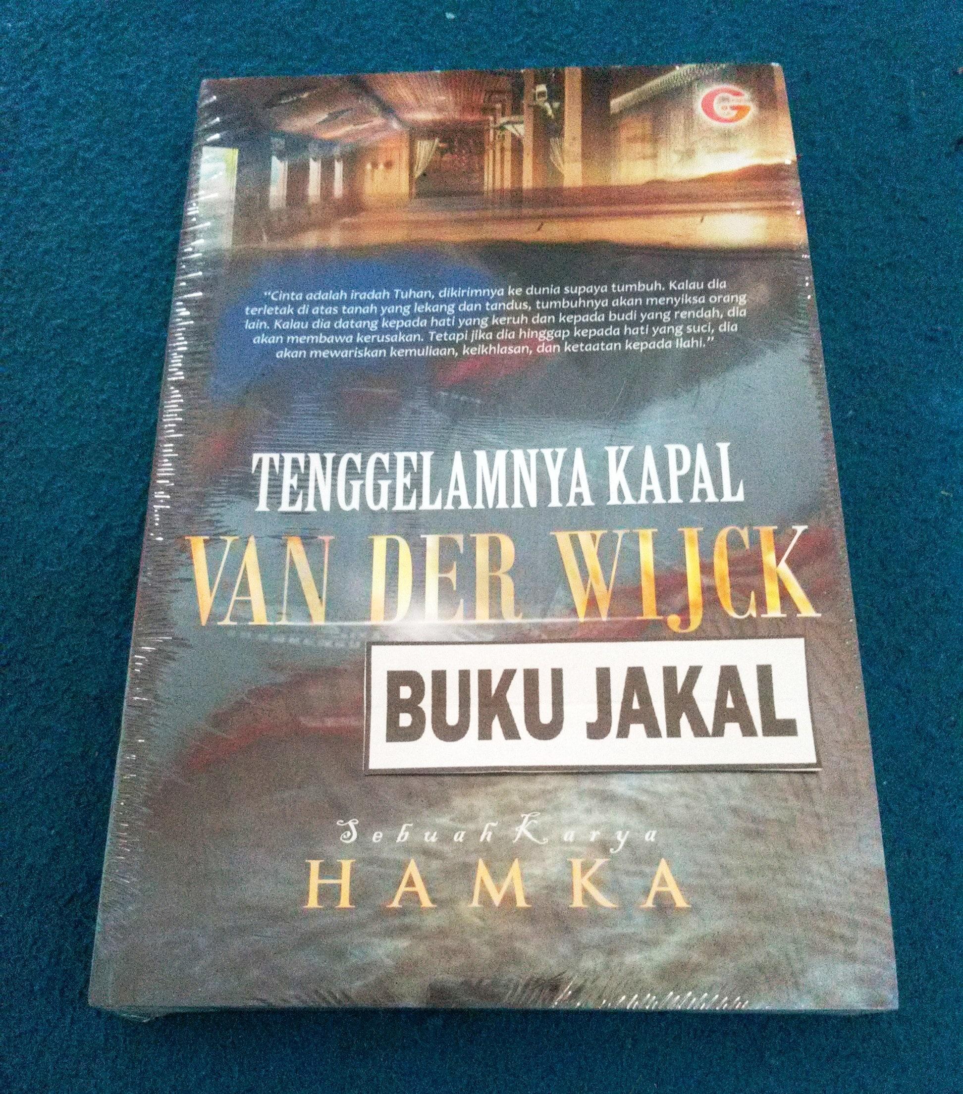 Jual Buku Novel Hamka Tenggelamnya Kapal Van Der Wijck Gip Al By Jakal Tokopedia