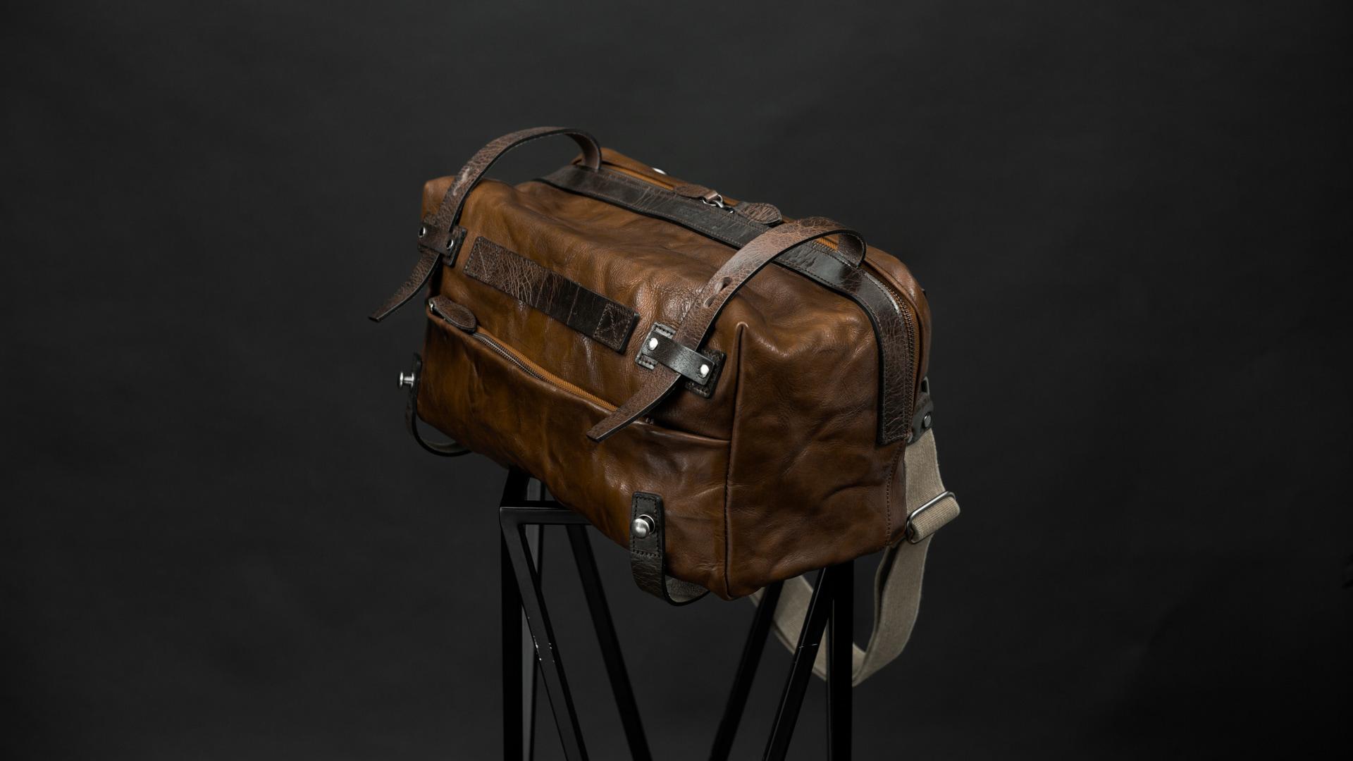 Jual Wotancraft Night Rider Brown Camera Bag Tas Kamera Drew Messenger Barry Tokopedia
