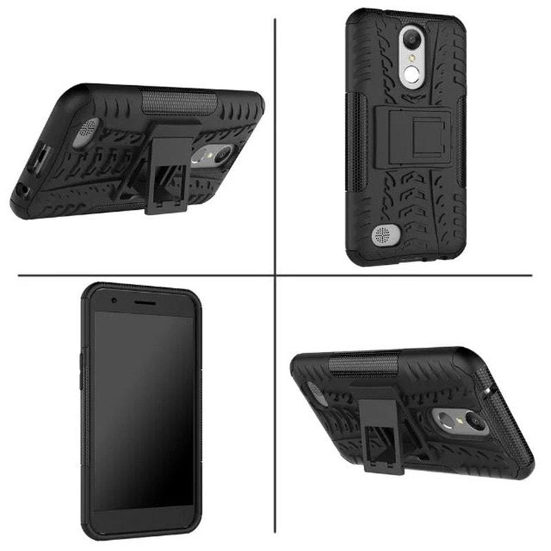 Lg K10 2017 Armor Case XPHASE Soft Gel Case - Polycarbonat