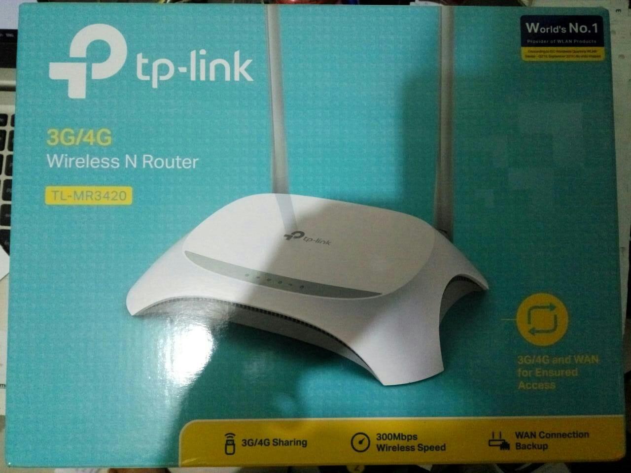 Jual Tp Link Tl Mr3420 V2 Versi 2 Terbaru 3g 4g Wireless N Tplink Router Takkii Shop Tokopedia