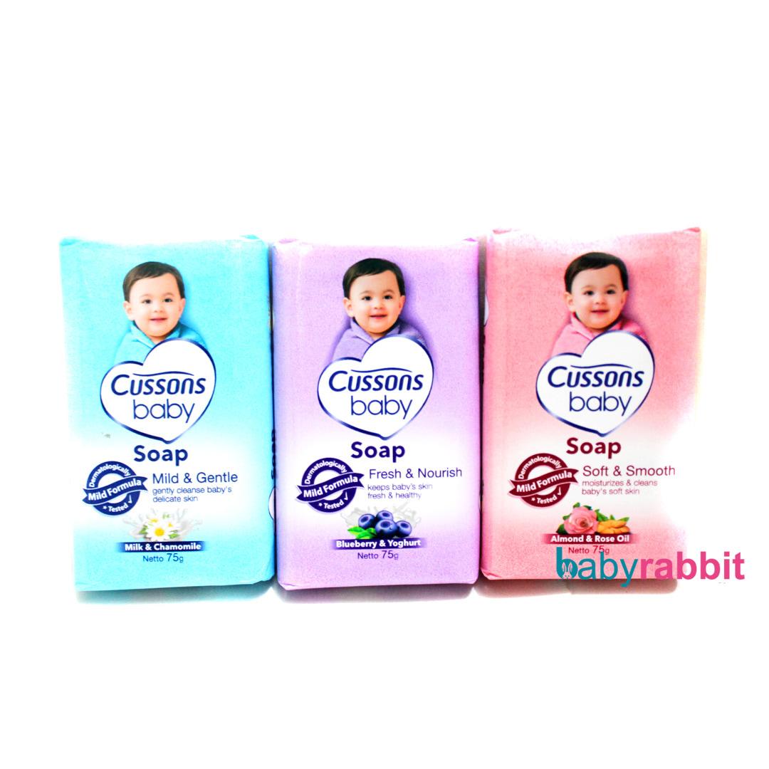 Cussons Baby Value Pack Fresh Nourish Paket Perlengkapan Bayi Sabun Cusson Jual Soap 75gr Rabbit Tokopedia