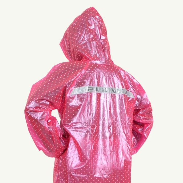 Voucher Ongkir jas hujan jaket celana polkadot 810 plevia stelan murah dari Tokopedia