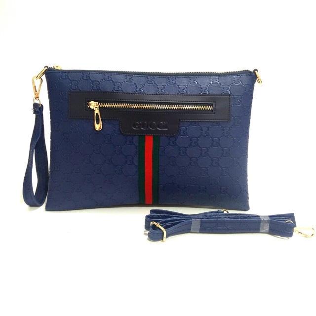 ... Tas Wanita Fashion Handbag Tas Import Gucci Clutch Emboss Berkualitas -  Blanja.com ... b5d058e4cc