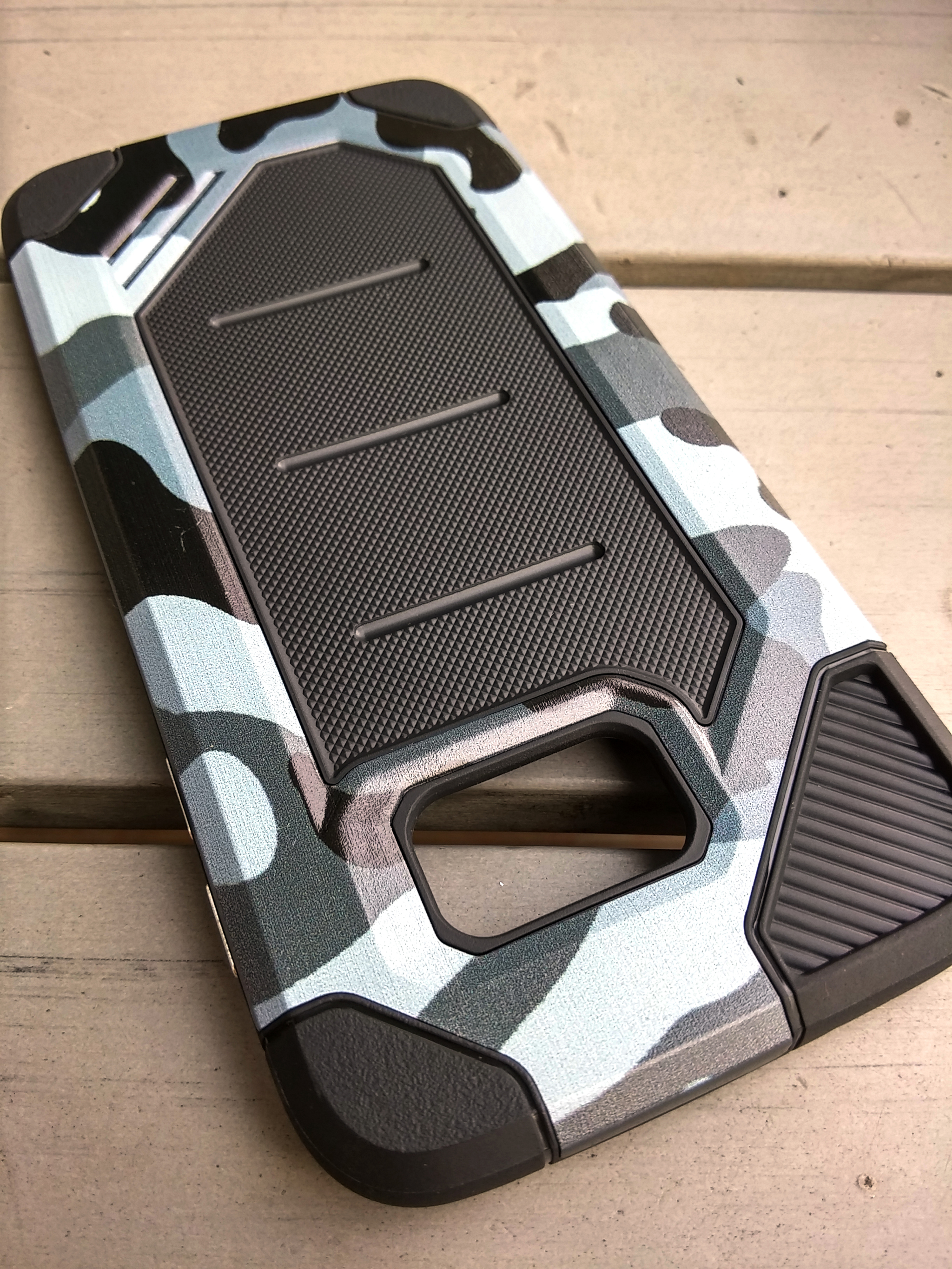 Samsung S7 Flat Army Military Sport Tech Armor Soft Case Shockproof