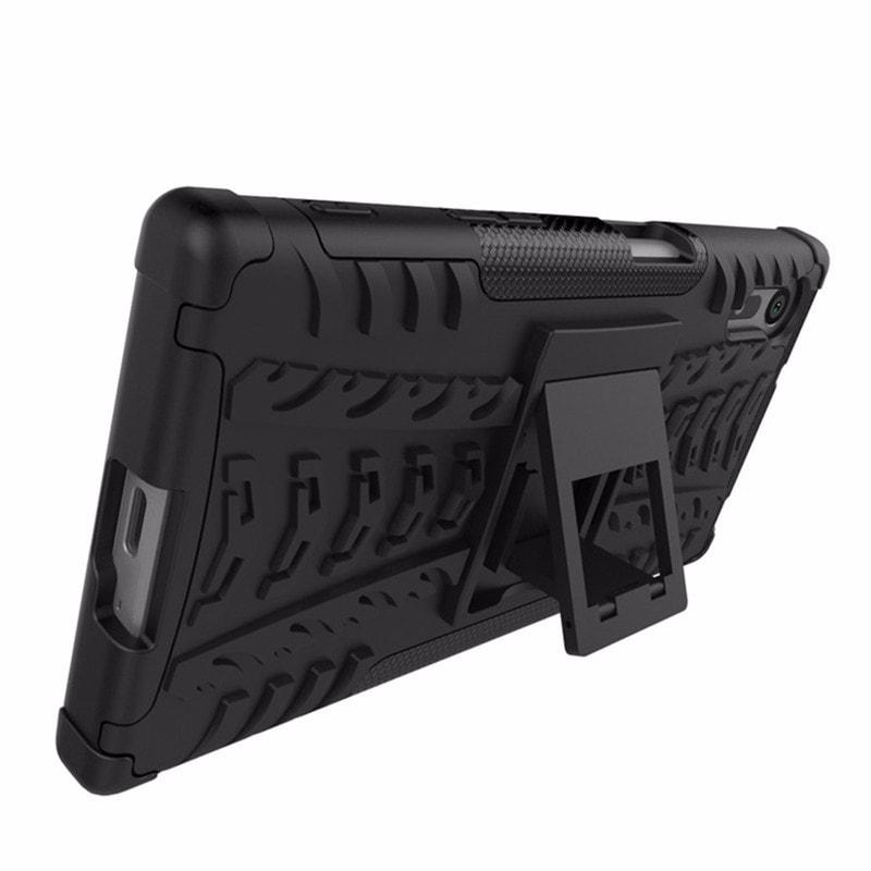 Sony Xperia XZ XZs Dual Armor Case XPHASE Soft Gel Case Polycarbonate