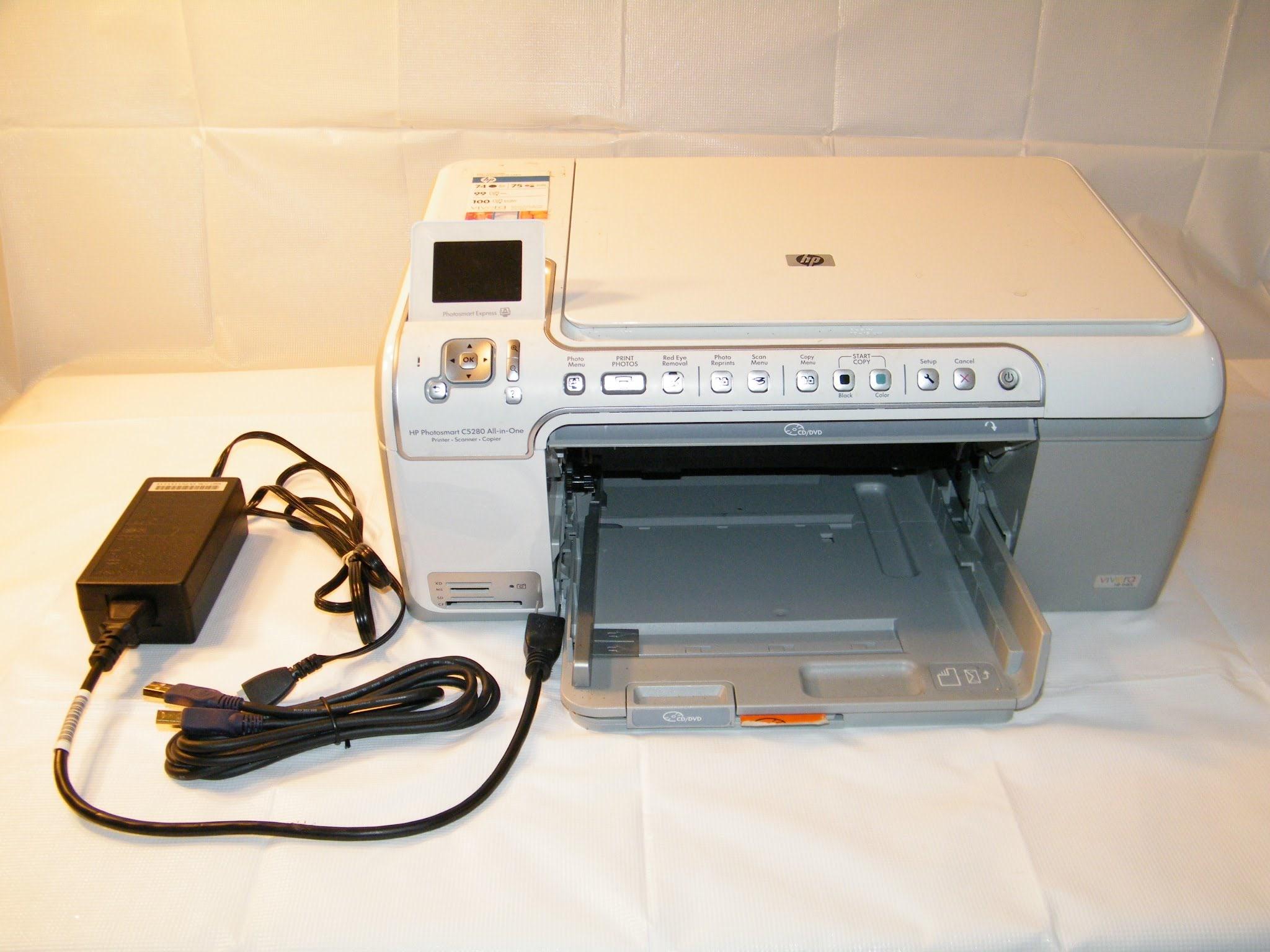 HP C5280 PRINTER DRIVER DOWNLOAD