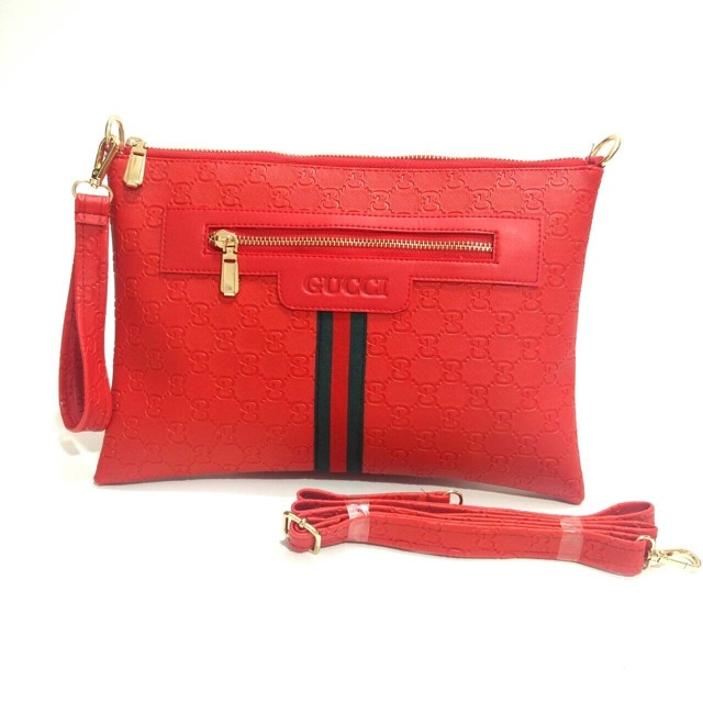 ... Tas Wanita Fashion Handbag Tas Import Gucci Clutch Emboss Berkualitas -  Blanja.com f4dfe7b476