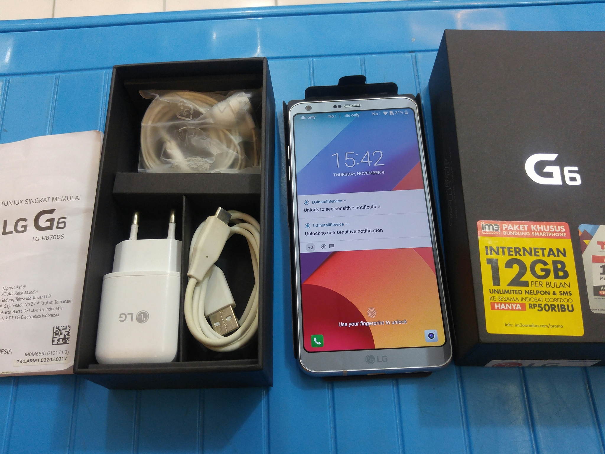 Jual Lg G6 Platinum Mulus 99 Garansi September 2018 Chrisna Smartphone Resmi Indonesia Rahardja Tokopedia