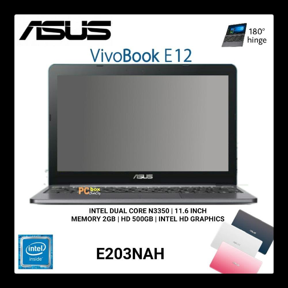 "Jual Laptop Asus E202SA series/Dual-Core N3050/Ram 2GB/HDD 500GB / 11,6"" - Kota Surabaya - Karoho Murahkom | Tokopedia"