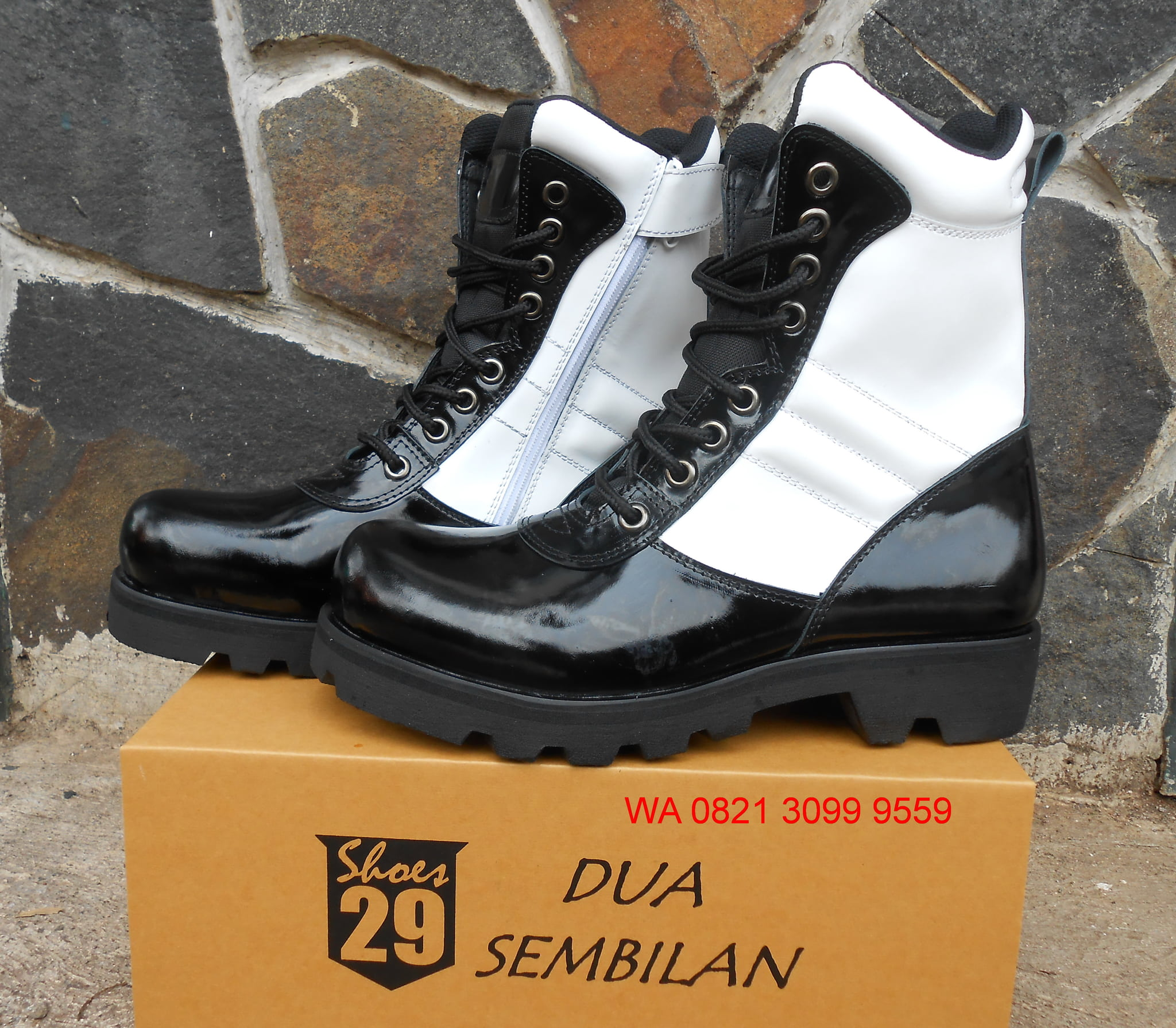 Sepatu Pdl Provos Tni - Sepatu Boot Provos Tni 0cbc04b272