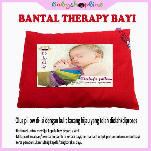 Bantal Bayi Olus Merah, Bantal Anti Peyang, Bantal Bayi Therapy - Blanja.com