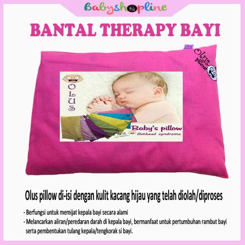 Bantal Bayi Olus Pink, Bantal Anti Peyang, Bantal Bayi Therapy - Blanja.com