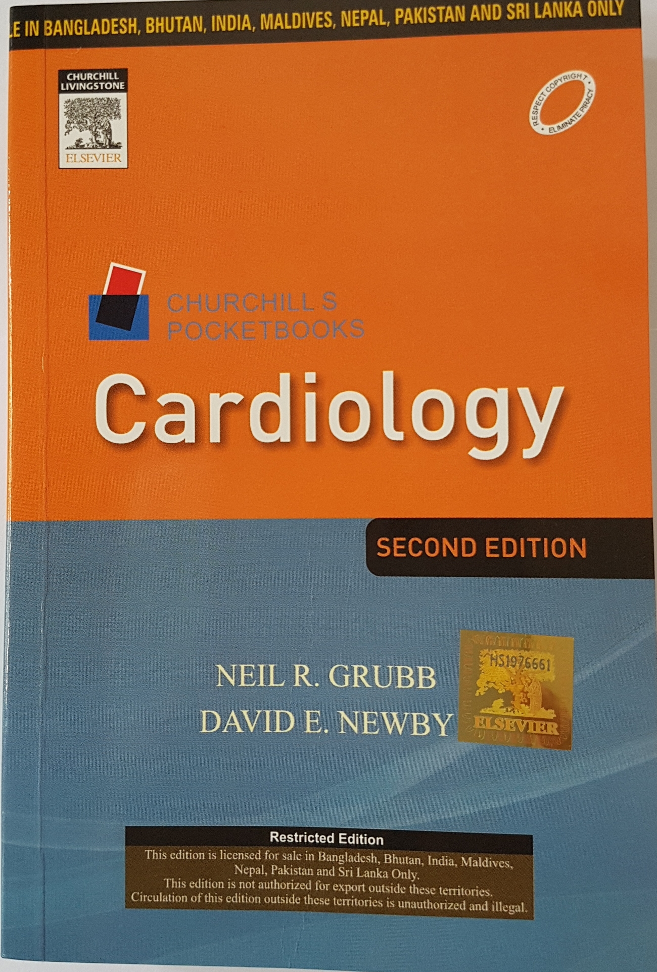 Cardiology 2e : Churchill's Pocketbooks - Neil R. Grubb