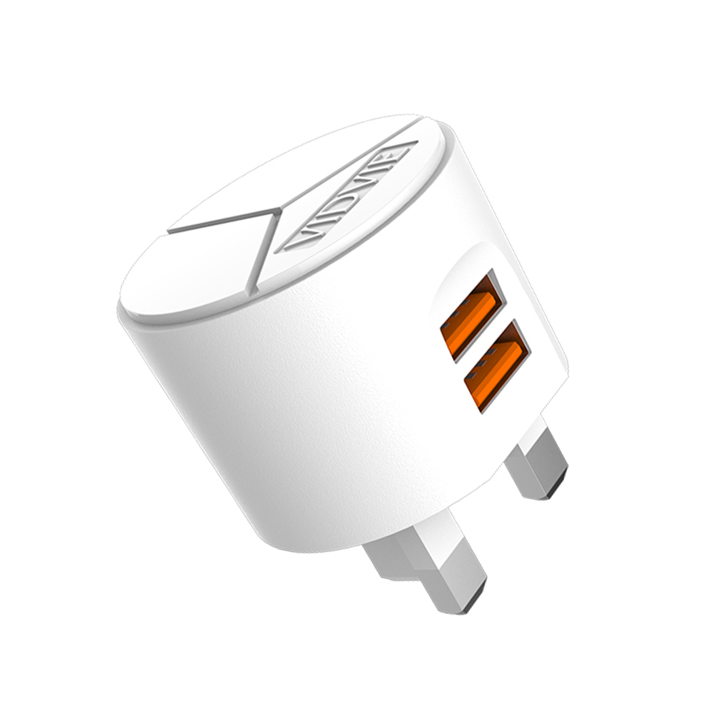 Jual Vidvie 2 Usb Port Micro Charger Plb105 Cable Included Iphone Ple207 Blanja