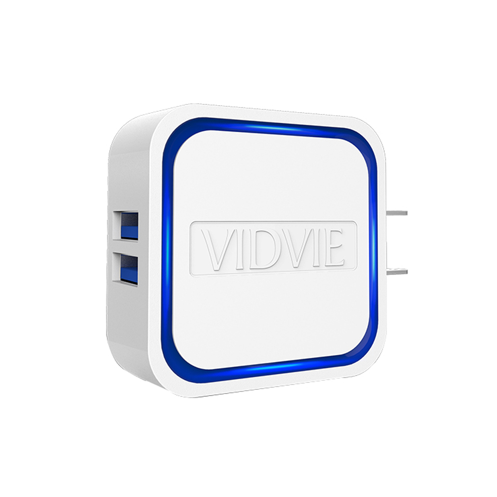 Jual Vidvie 2 Usb Port Micro Charger Plm302 Cable Included Ple211 Blanja