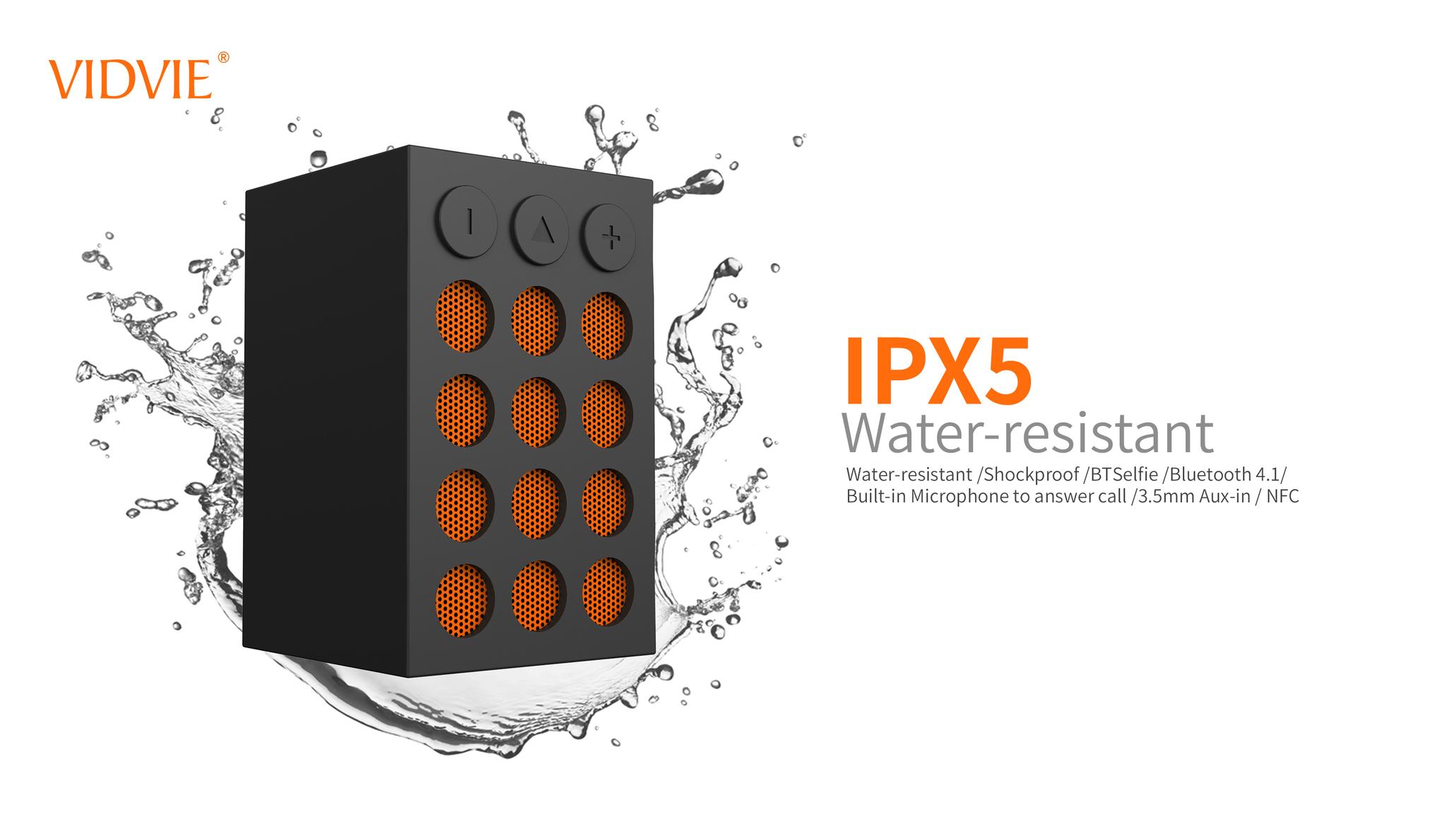 Vidvie Wireless Speaker Sp905 Bluetooth Portable Speaker Blanja