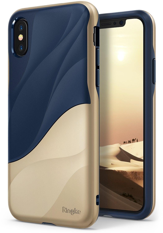 Ringke Iphone X Case Ringke Wave - Marina Gold  Original