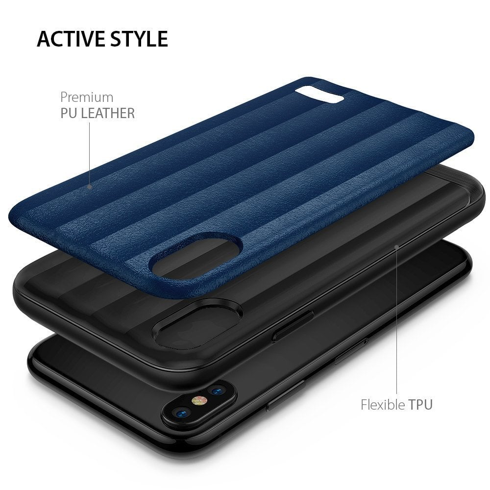 Ringke Iphone X Case Ringke Flex S - Deep Blue  Original