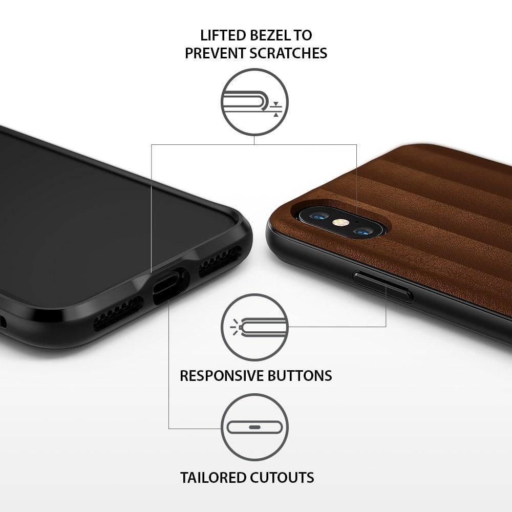 Ringke Iphone X Case Ringke Flex S - Brown  Original