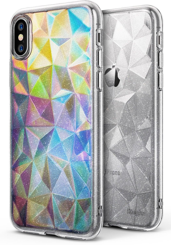 Ringke Iphone X Case Ringke Air Prism - Glitter Clear Original