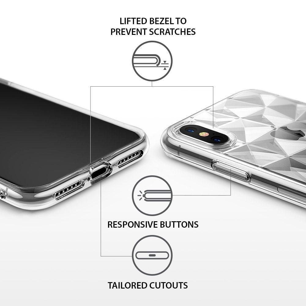 Ringke Iphone X Case Ringke Air Prism - Clear Original