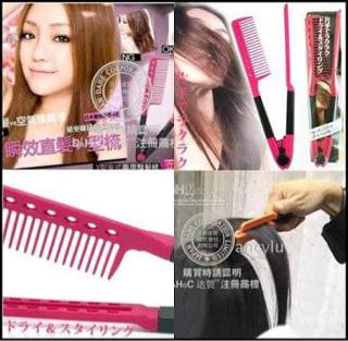 Sisir Ion V Pelurus Rambut ( Ionic Hair Straightener Comb ) - Blanja.com e9ed750bc0