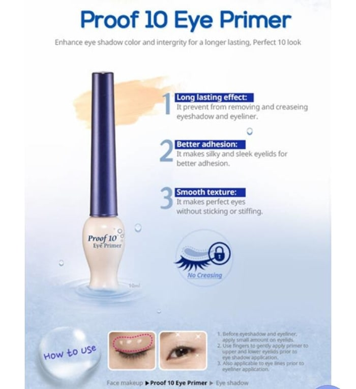 (Etudehouse) Etude House Proof 10 Eye Primer