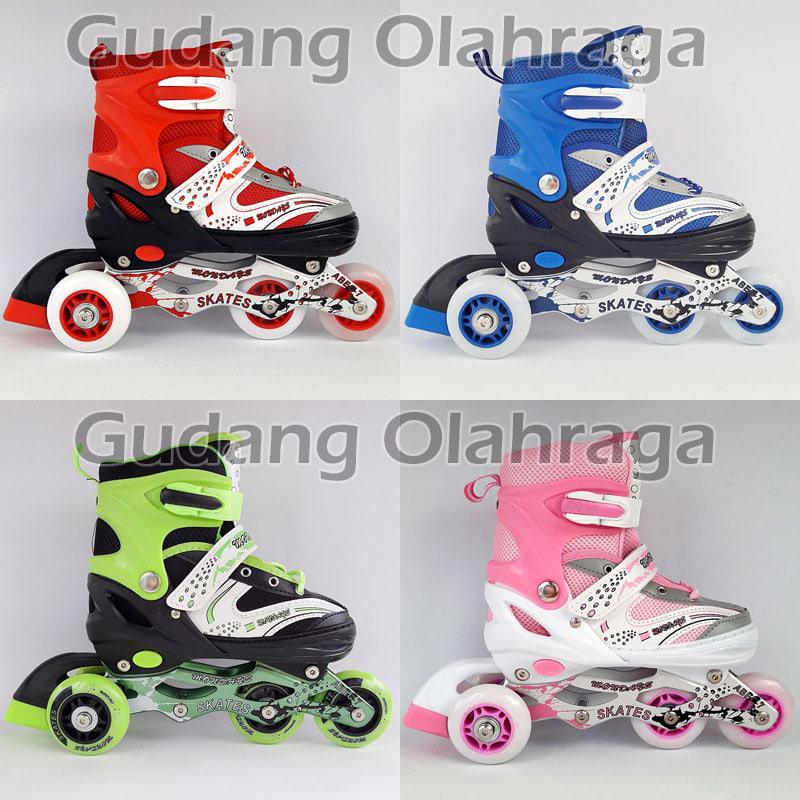 Jual Sepatu Roda Bajaj Harga Grosir !! Inline Skate Anak Dan Dewasa ... 9ef5a3bb47