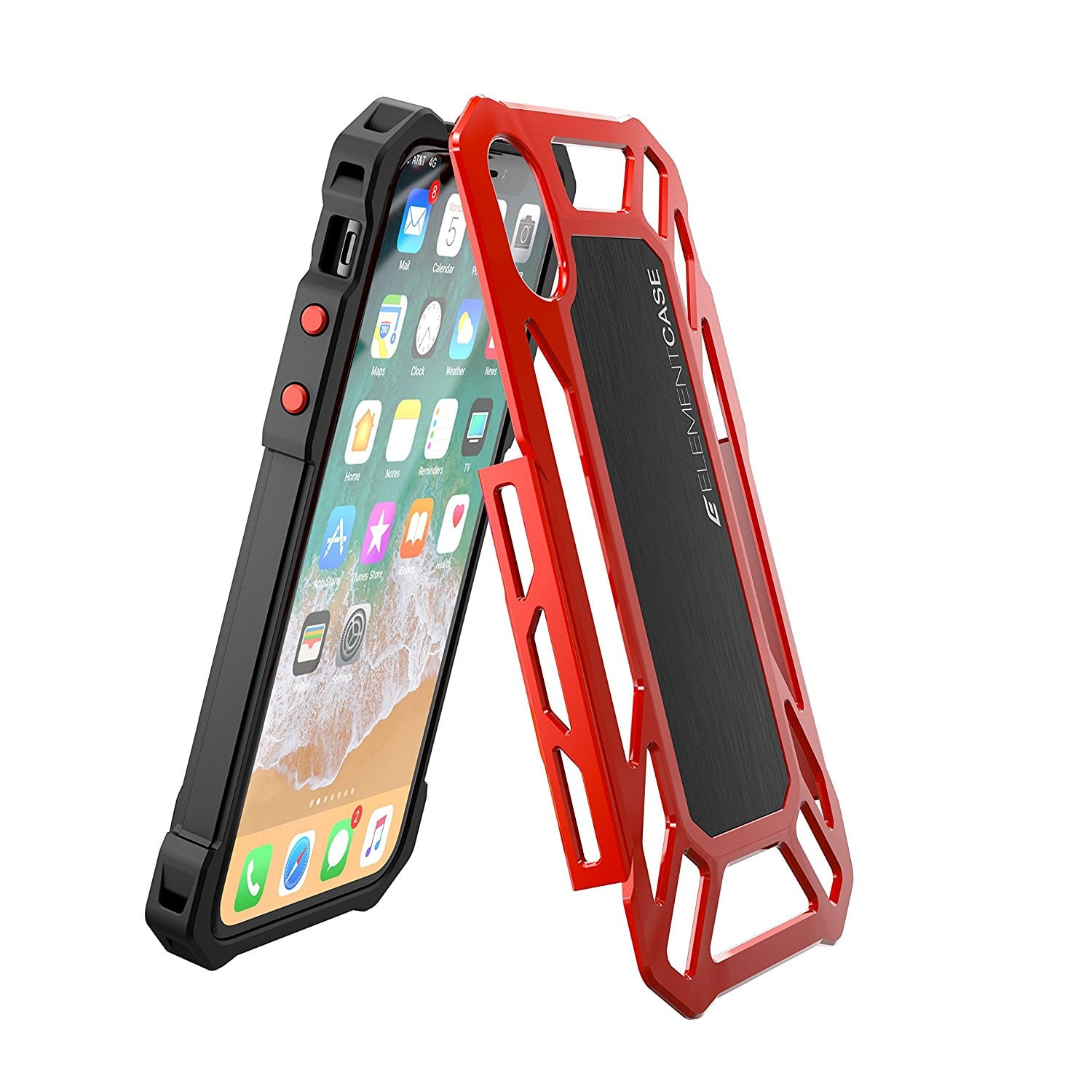 Element Iphone X Case Roll Cage - Red ORIGINAL