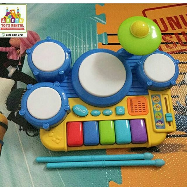 Jual WinFun Boppin' Beats Drum Set Keyboard - DKI Jakarta