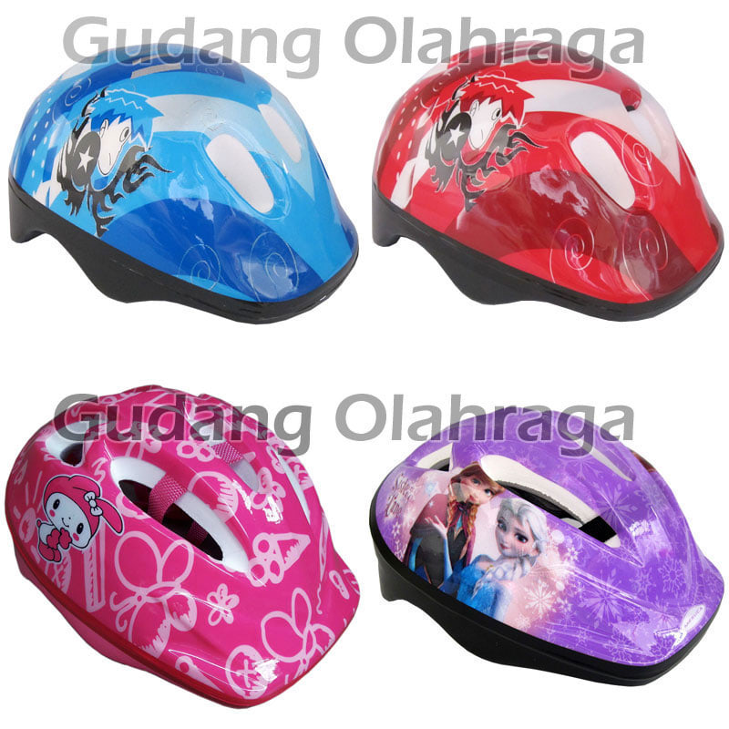 Helm Sepatu Roda Anak Karakter / Helm Sepeda Anak