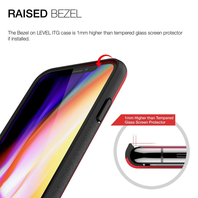 Patchworks Iphone X Case ITG Level - Red Original