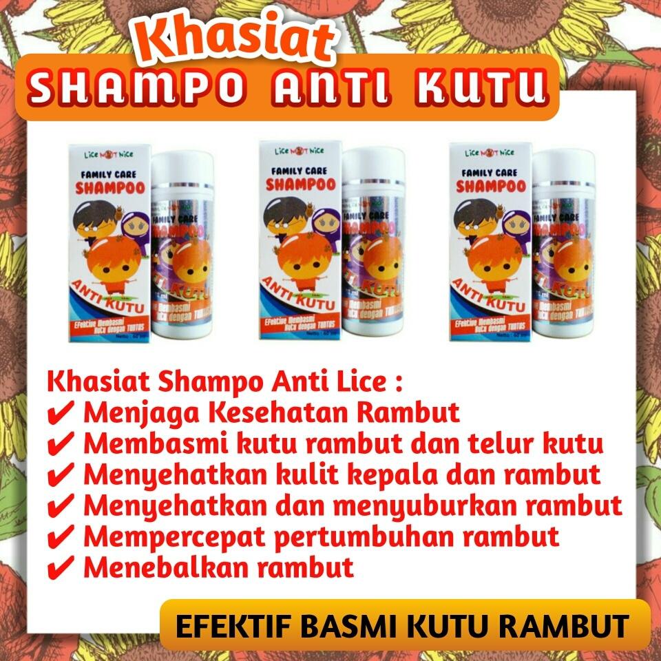 Jual Shampo Shampoo Anti Kutu Lice Rambut Kepala Sampo Toko Ardian Indonesia Tokopedia