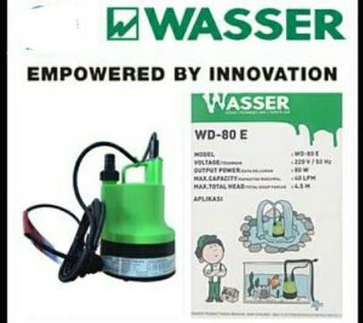 pompa celup air bersih wasser WD 80E