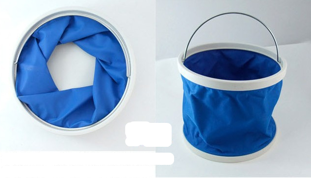 Ember lipat portable 11 liter foldable bucket waterproof unik - HHM177