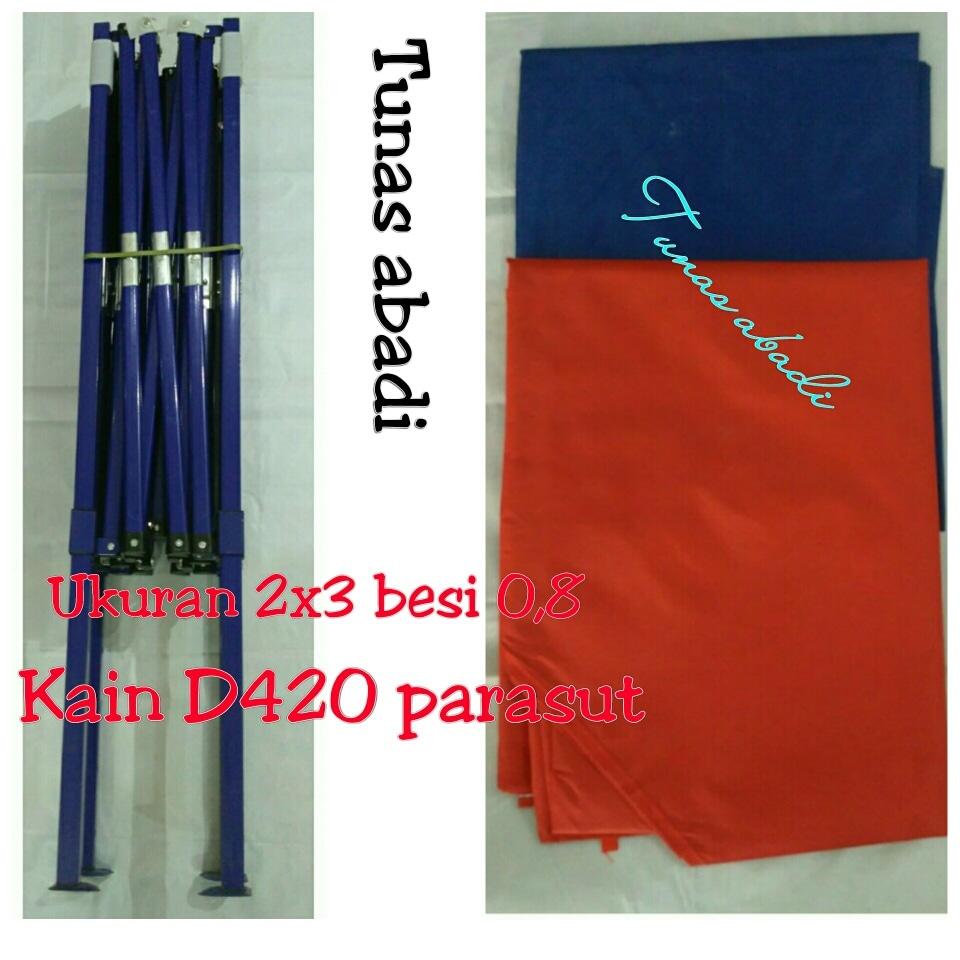 Jual Tenda Lipat 2x3 Folding Tent Besi 08mm Tunasabadi Tokopedia 3x45 Ketebalan 06 Mm